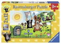 Ravensburger 07558 puzzle - Kisvakond (2x12 db-os)
