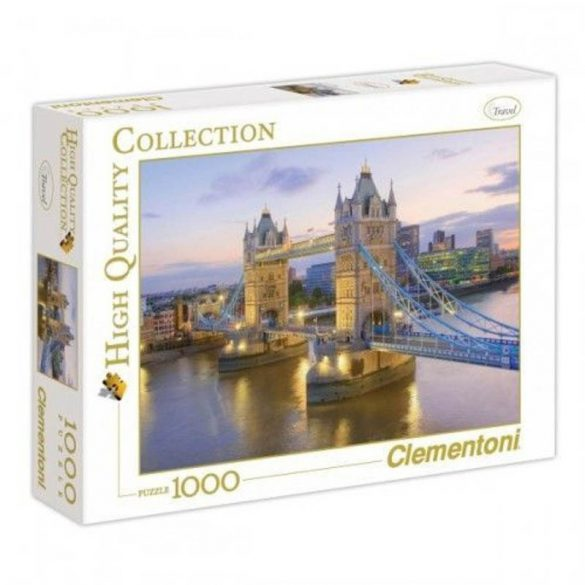 Clementoni 39022 High Quality puzzle - Tower Bridge (1000 db-os)
