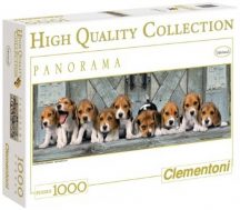 Clementoni High Quality puzzle - Beagle kutyák (1000 db-os) 39076