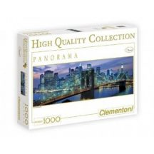 Clementoni 39209 High Quality Collection panorama puzzle - New York Brooklyn híd (1000 db-os)