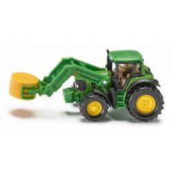 SIKU 1379 John Deere Farm traktor rakodóval