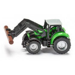 SIKU 1380 Deutz-Fahr traktor rakodóval