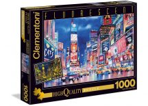 Clementoni Fluorescent puzzle - New York (1000 db-os) 39249