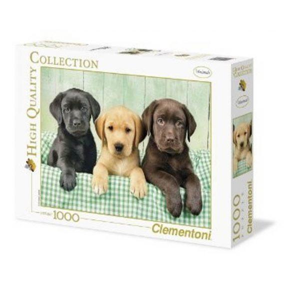 Clementoni Puzzle - Labrador kiskutyák (1000 db-os)