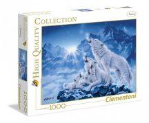 Clementoni 39280 High Quality Collection puzzle - Farkas család (1000 db-os)