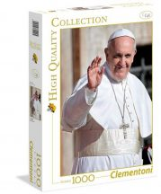 Clementoni 39299 puzzle - Ferenc pápa (1000 db-os)