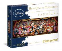 Clementoni 39347 panorama puzzle - Disney mesehősök (1000 db-os)