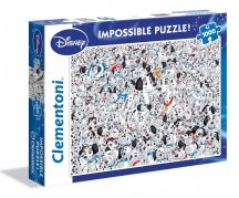 Clementoni Impossible puzzle - 101 kiskutya (1000 db-os) 39358