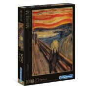 Clementoni 39377 Museum Collection Puzzle - Munch, A sikoly (1000 db)