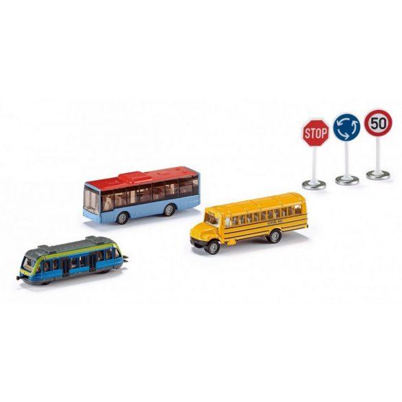 SIKU 6303 5 db-os Városi közlekedés készlet