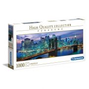 Clementoni 39434 High Quality Collection Panoráma Puzzle - Brooklyn híd, New York (1000 db)