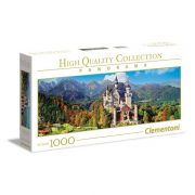 Clementoni 39438 High Quality Collection Panoráma Puzzle - Neuschwanstein kastély (1000 db)