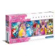 Clementoni 39444 Panoráma Puzzle - Disney hercegnők (1000db)