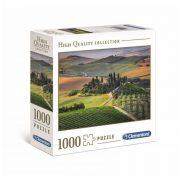 Clementoni 39456 High Quality Collection puzzle négyzet alakú dobozban - Toszkána, Olaszország (1000 db)