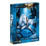 Clementoni 39462 Anne Stokes Collection Puzzle - Kék hold (1000 db)