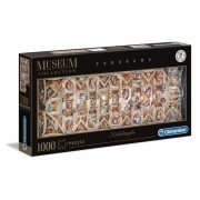 Clementoni 39498 Museum Collection Panoráma Puzzle - Michelangelo, Sixtus kápolna (1000 db)