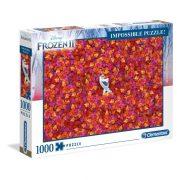 Clementoni 39526 Lehetetlen Puzzle - Jégvarázs 2 Olaf (1000 db)
