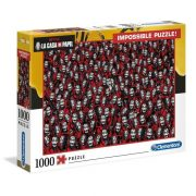 Clementoni 39527 Impossible puzzle - A nagy pénzrablás (1000 db)