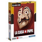 Clementoni 39533 Netflix - Money Heist - A nagy pénzrablás II. (1000 db)