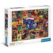 Clementoni 39602 High Quality Collection puzzle - Klasszikus thriller filmek (1000 db)