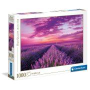 Clementoni 39606 High Quality Collection puzzle - Levendulamezõ (1000 db)