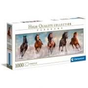 Clementoni 39607 High Quality Collection Panoráma Puzzle - Lovak (1000 db)