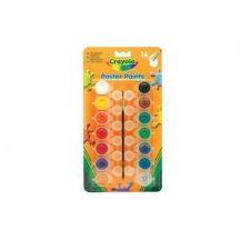 Crayola - Tempera, színes, lemosható, tégelyes 14 db