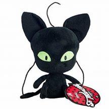 Katicabogár plüssfigura 15 cm - PLAGG macska fekete