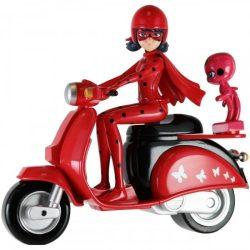 Miraculous - Katicabogár figura járművel 13 cm