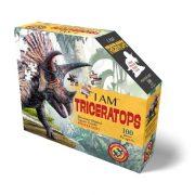 Wow Junior Puzzle - Triceratops (100 db)