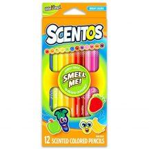 Scentos Illatos színes ceruza 12 db