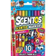 Scentos illatos vékony filctoll - 10 db - ÉLÉNK színek