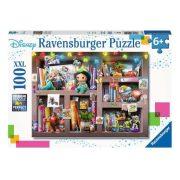 Ravensburger 10410 XXL Puzzle - Disney karakterek gyűjteménye (100 db-os)