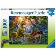 Ravensburger 12888 XXL puzzle - Dinó oázis (100 db)