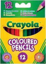 Crayola - 12 db-os félhosszú színes ceruza