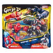 Goo Jit Zu hõsei nyújtható akciófigura Marvel 2 db-os szett - Pókember és Venom