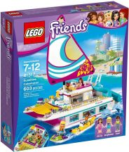 LEGO Friends 41317 Napsütötte katamarán