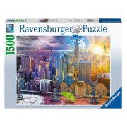 Ravensburger 16008 Puzzle - New York télen és nyáron (1500 db-os)