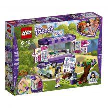 LEGO Friends 41332 Emma mozgó gallériája