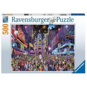 Ravensburger 16423 puzzle  - Times Square Szilveszter (500 db)