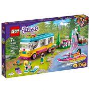LEGO Friends 41681 Erdei lakóautó és vitorlás