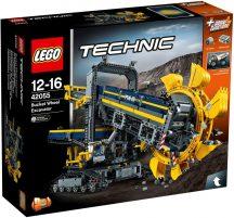 LEGO Technic 42055 Lapátkerekes kotrógép
