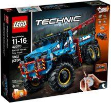 LEGO Technic 42070 6x6 terepjáró vontató