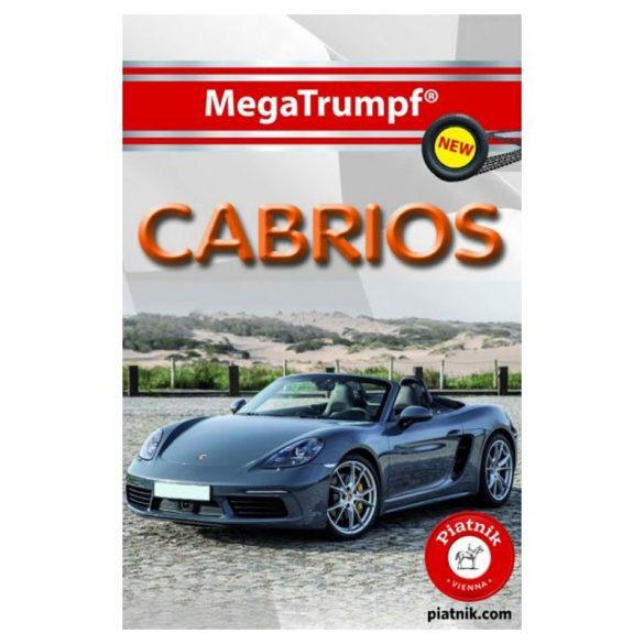 Cabrio autós gyerekkártya