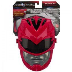 Power Rangers maszk - RED RANGER maszk hanggal