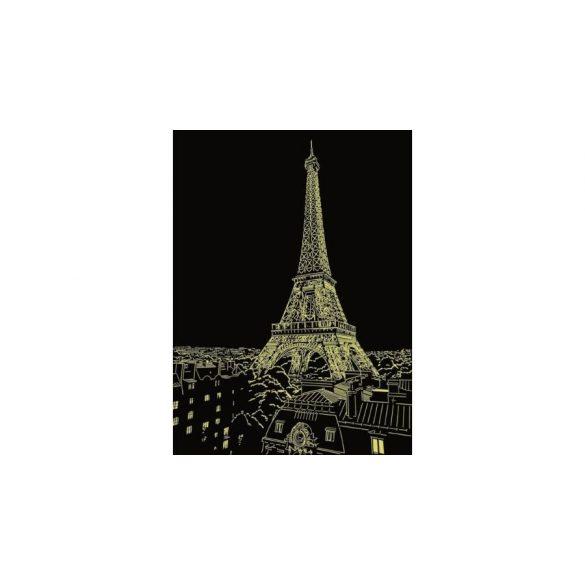 Ravensburger 14898 Star Line foszforeszkáló fotó puzzle - Eiffel torony, Párizs (500 db-os)