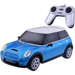 RASTAR 15000 Távirányítós autó 1:24-es méretaránnyal - MINI COOPER S (KÉK)