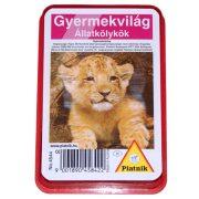 Gyermekvilág Állatkölykök kártya