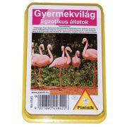 Piatnik kártya - Egzotikus állatok gyermekkártya