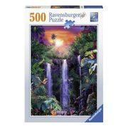 Ravensburger 14840 Puzzle - Csodás vízesés (500 db-os)